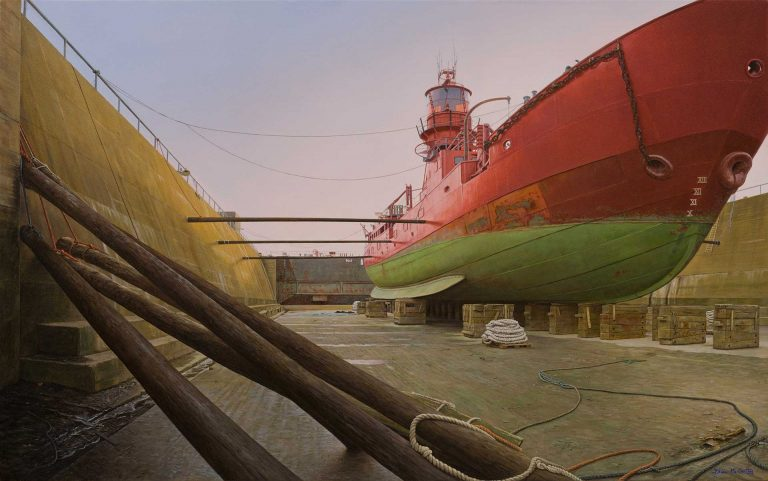 The-Kittiwake-Lightship-at-Dublin's-Graving-Docks