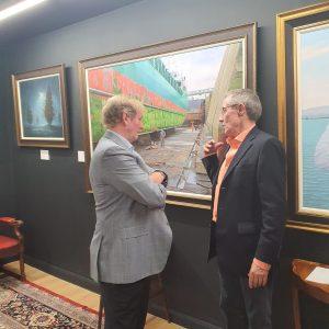 Former Taoiseach Enda Kenny launches 'Nautica' Exhibition