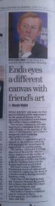 Eyes for Art – Irish Mail on Sunday